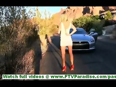 casi amazingly hot juvenile blond walking naked