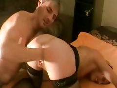 brutally fisting the wifes loose bawdy cleft