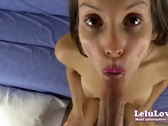 lelu love-wish your wife drilled like this