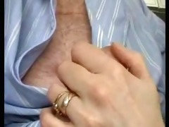 british wife gives sensual jerk off and suck to