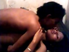 indian - cutie getting screwed by bf whilst his