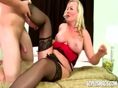 breasty golden-haired mother i st anal pounding