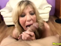 golden-haired mother i aged tugs and sucks pecker