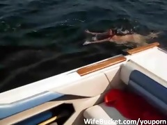 dilettante fuck on the boat