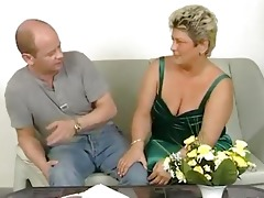 overweight mature housewife squirms
