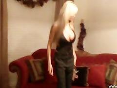 mother i disrobes masturbates and licks her cum