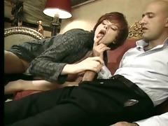pleasure karins - les filles de la patronne scene