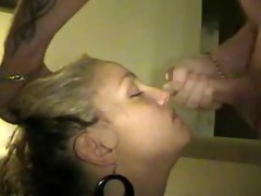 amateurwow.com | golden-haired wench giving the
