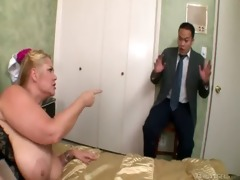 aged jover samantha 611g receives dark cock