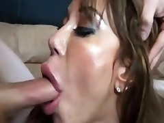 seductive mom milks lad