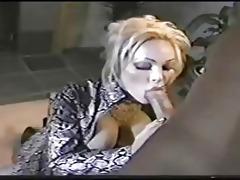 classic mother i houston engulfing cock!