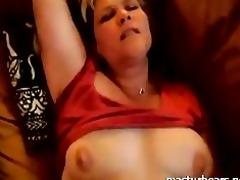 passionate couch masturbation canadian mama