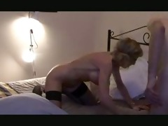 breasty old woman receives it is up the butt
