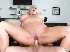 fat blond momma with huge pantoons receives