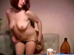 russian aged mamma and son sex