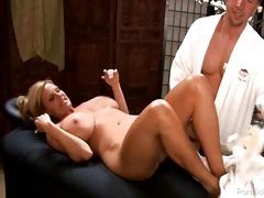 oriental masseuse pleasures breasty honey and her