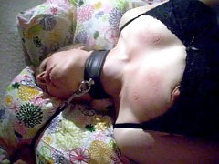 biting sub mifl bazookas to orgasem