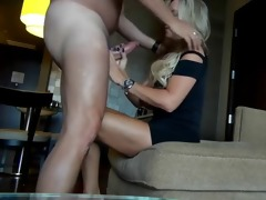 sexy golden-haired d like to fuck in hotel room