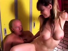 hot aged sweetheart enjoys a fuck and a facial