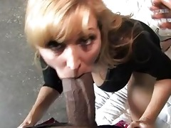 nicole moore milf do darksome oral job in front