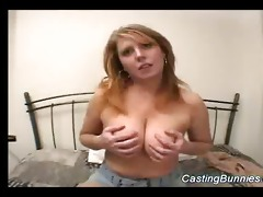casting a breasty sexy bunny sex