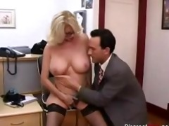 hawt aged secretary seducing younger boss