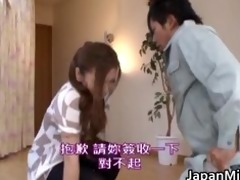 emi harukaze oriental girl is a sexually excited
