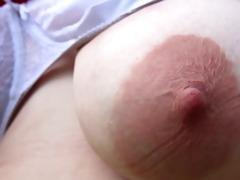 jazzmin preggy areola breast