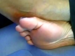 ebony feet in dutch teach