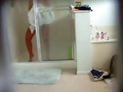 hidden webcam mother i in the shower