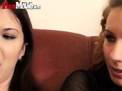 sexually excited babes fuck an mature lad