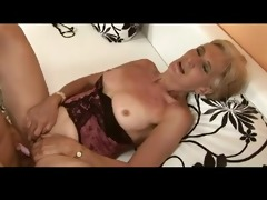 unshaved golden-haired granny is a bitch by troc