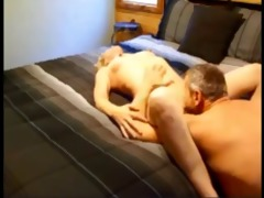 aged pair having sex on real homemade