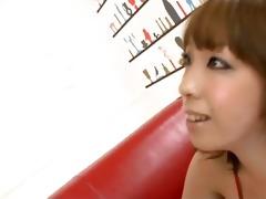 saki asaoka has flawless milk cans that she is