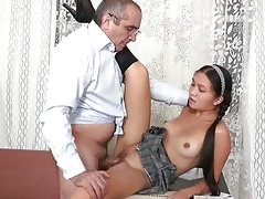 wild drilling with mature trainer