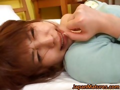 kaori nanba japanese aged honey receives part0