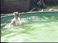mature pair having sex in the pool part 0 wear