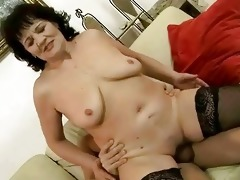 fat grandma getting drilled coarse