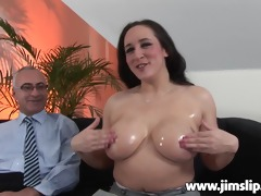 breasty british d like to fuck getting shagged