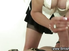 old doxy gives cook jerking to younger boy