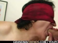 granny enjoys fucking dongs