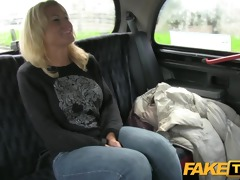 faketaxi hot golden-haired in boyfriend revenge