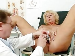 sexy breasty granny meatballs and pussy gyno