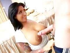 busty sexy mommy fucks daughters boyfriend