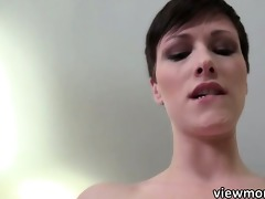 short haired mindy large weenie pov fuck