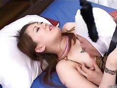 oriental yukino fishnet dream lascivious chick