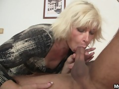 blonde mother-in-law seduces me but wife finds