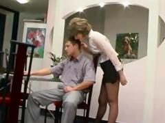 hose granny gets oral pleasure aged aged porn