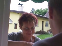 granny rides neighbours large schlong