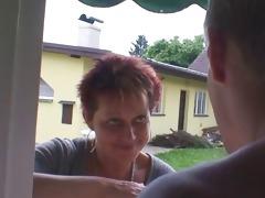 granny rides neighbours large schlong